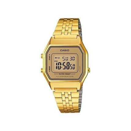 CASIO Unisex Square Party Style Stainless Office Style