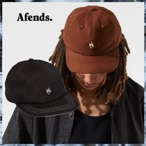 AFENDS Unisex Street Style Caps