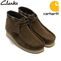 Carhartt Camouflage Street Style Collaboration Boots