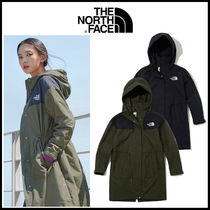 THE NORTH FACE WHITE LABEL Casual Style Unisex Street Style Bi-color Long Khaki Jackets