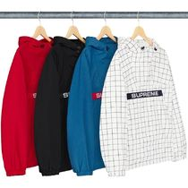 Supreme Pullovers Street Style Tops