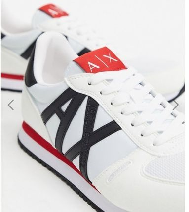 Faux Fur Logo Sneakers