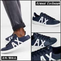 A/X Armani Exchange Leather Sneakers