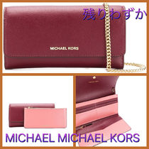Michael Michaud Casual Style Chain Leather Bags