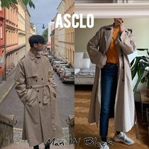 ASCLO Street Style Long Oversized Trench Coats