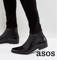 ASOS Faux Fur Plain Boots