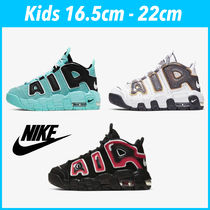 Nike AIR MORE UPTEMPO Unisex Street Style Kids Girl Sneakers