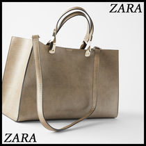 ZARA A4 Other Animal Patterns Totes