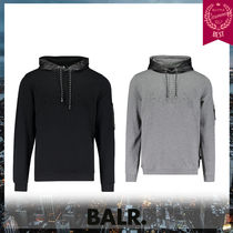 BALR Street Style Long Sleeves Hoodies