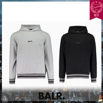 BALR Pullovers Stripes Unisex Street Style Long Sleeves Hoodies