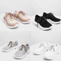 Charles&Keith Casual Style Plain Low-Top Sneakers