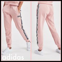 adidas Casual Style Sweat Street Style Plain Long Bottoms