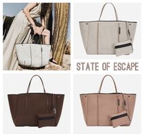 State of Escape Casual Style Unisex Office Style Totes