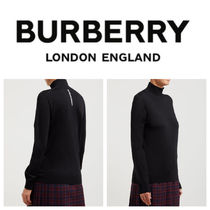 Burberry Long Sleeves Sweaters