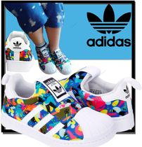 adidas SUPERSTAR Unisex Street Style Kids Girl Sneakers