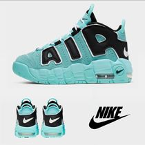 Nike AIR MORE UPTEMPO Street Style Kids Girl Sneakers