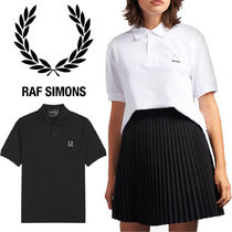 FRED PERRY Casual Style Unisex Collaboration Plain Cotton Short Sleeves