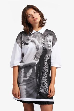 Casual Style Unisex Collaboration Cotton Short Sleeves