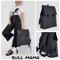 ASOS Casual Style A4 2WAY Plain Backpacks