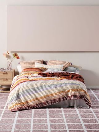 Stripes Comforter Covers Geometric Patterns Co-ord
