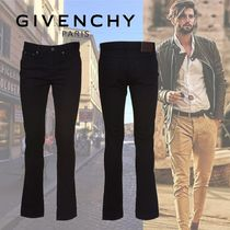 GIVENCHY Wool Plain Jeans & Denim