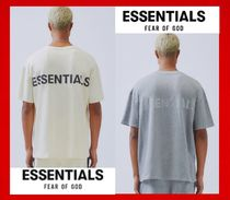 FEAR OF GOD ESSENTIALS Unisex Street Style Cotton Short Sleeves T-Shirts