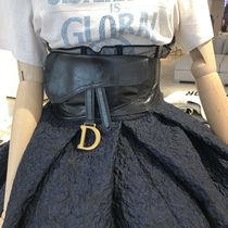 Christian Dior Plain Leather Belts