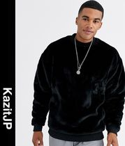 ASOS Crew Neck Pullovers Street Style Long Sleeves Sweatshirts