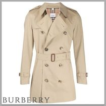 Burberry Other Check Patterns Trench Coats