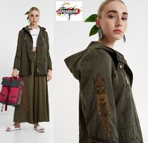 Desigual Casual Style Medium Parkas