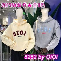 oioi korea Plain Hoodies & Sweatshirts
