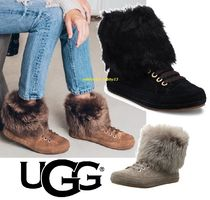 UGG Australia Blended Fabrics Plain Low-Top Sneakers