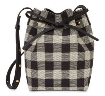 Gingham Casual Style Crossbody Shoulder Bags