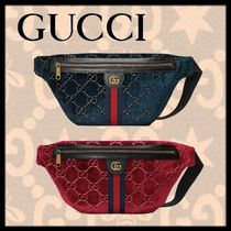 GUCCI Unisex 2WAY Hip Packs