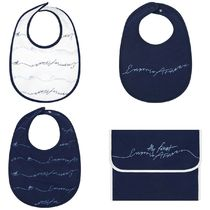 EMPORIO ARMANI Co-ord Baby Boy Bibs & Burp Cloths