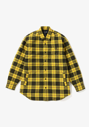 FRED PERRY Shirts Tartan Street Style Long Sleeves Cotton Shirts 2