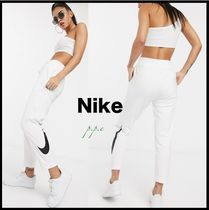 Nike Casual Style Unisex Sweat Street Style Long Sweatpants
