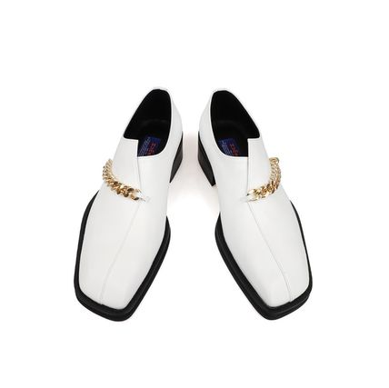 Loafers Unisex Leather Loafers & Slip-ons