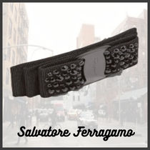 Salvatore Ferragamo Barettes Casual Style Blended Fabrics Home Party Ideas