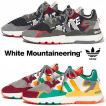 WHITE MOUNTAINEERING Street Style Collaboration Sneakers