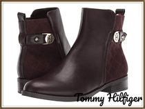 Tommy Hilfiger Wedge Plain Wedge Boots