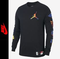 Nike Crew Neck Street Style Long Sleeves Long Sleeve T-Shirts