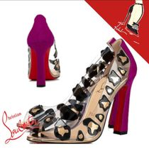 Christian Louboutin Velvet Other Animal Patterns Leather PVC Clothing
