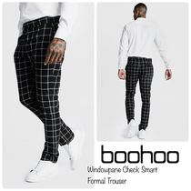 boohoo Printed Pants Other Check Patterns Street Style