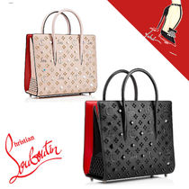 Christian Louboutin Casual Style Leather Office Style Handbags