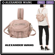 Alexander Wang Casual Style 2WAY Leather Backpacks