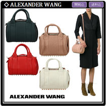 Alexander Wang Casual Style Studded 2WAY Leather Shoulder Bags