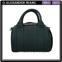 Alexander Wang Casual Style Studded 2WAY Leather Crossbody Shoulder Bags