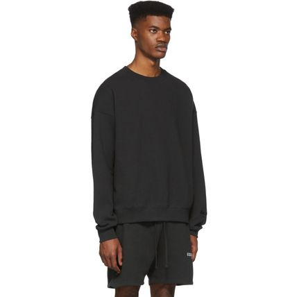 FEAR OF GOD Sweatshirts Crew Neck Unisex Sweat Street Style Oversized Logo 15