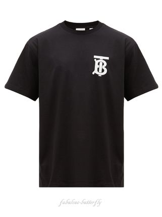 Burberry More T-Shirts Cotton Short Sleeves Luxury T-Shirts